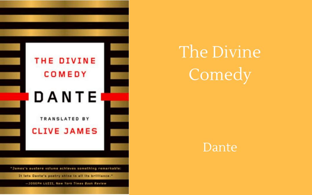 Book cover - Dante - Divine Comedy - Clive James trans.