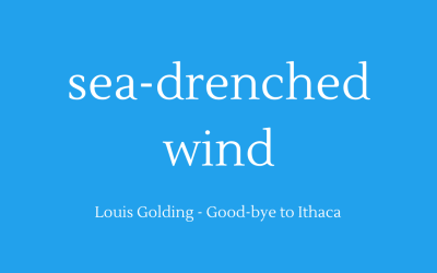 Sea-drenched wind