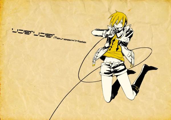 Tags: Anime, Durarara!!, Kida Masaomi, Linda Linda, Pixiv Id 1608647