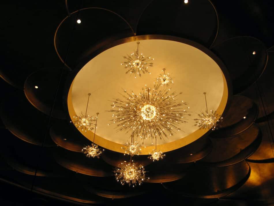 a tale of two sputnik chandeliers the