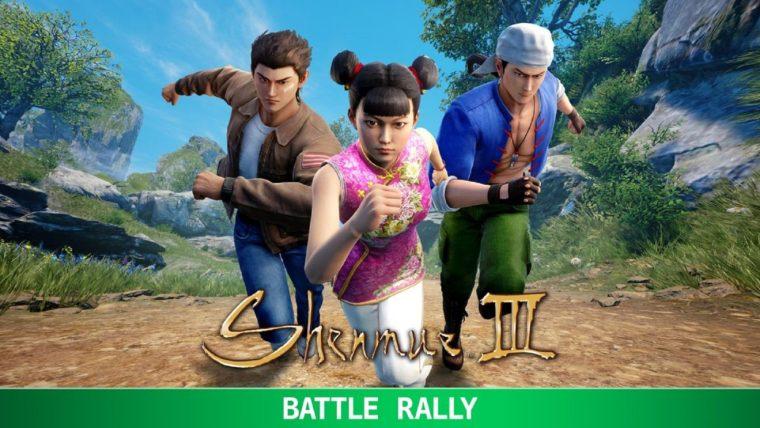 Resultado de imagem para Shenmue III, Battle Rally