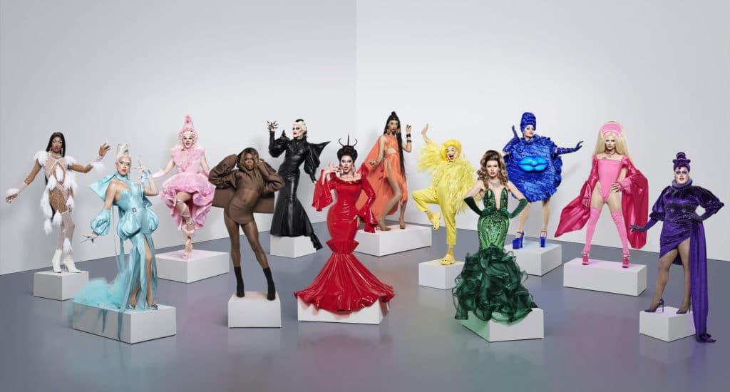 The Drag Race UK season two cast.