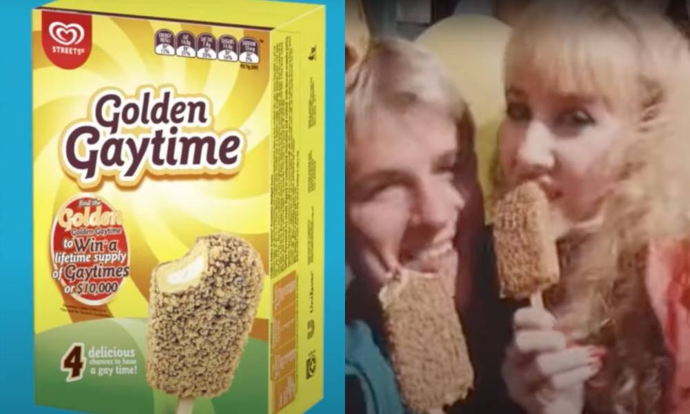 Gay man demands 'Golden Gaytime' ice cream ditch its 'offensive' name