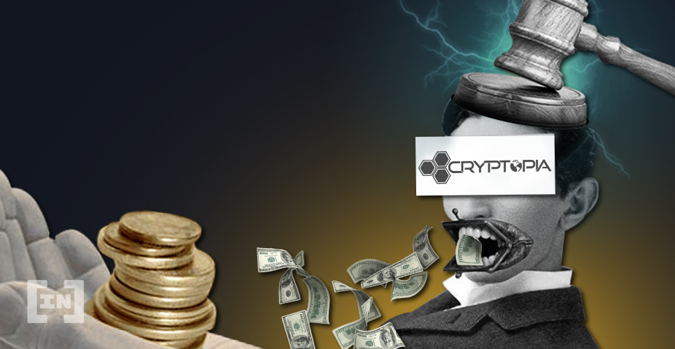 Cryptopia Auction Liquidation
