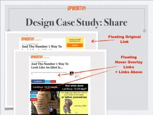 Content tips: make it easy to share