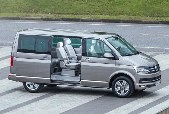 Volkswagen Multivan Highline 4MOTION (T6) '2015–19