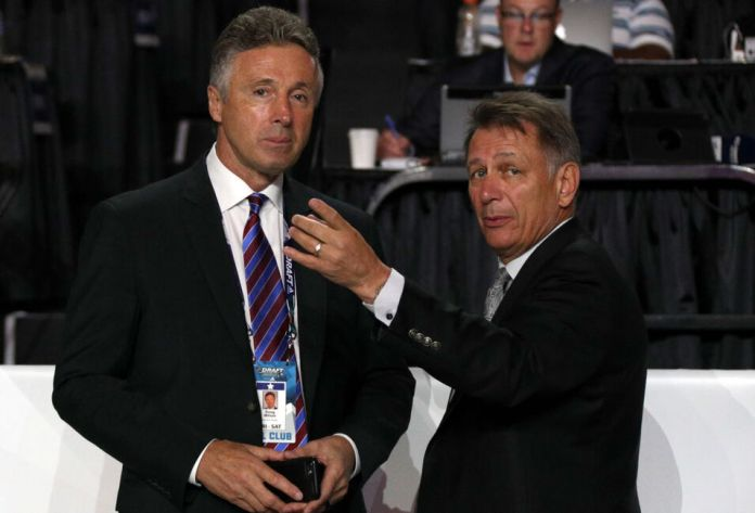 Doug Wilson Sharks of San Jose Ken Holland Oilers of Edmonton