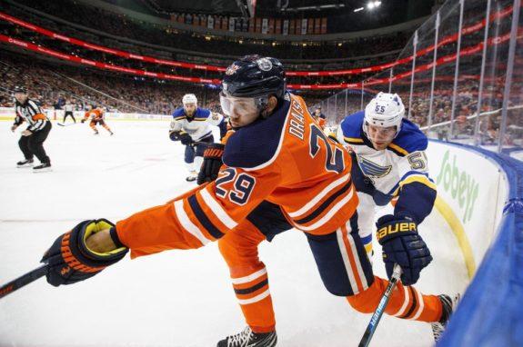 Leon Draisaitl of Edmonton Oilers