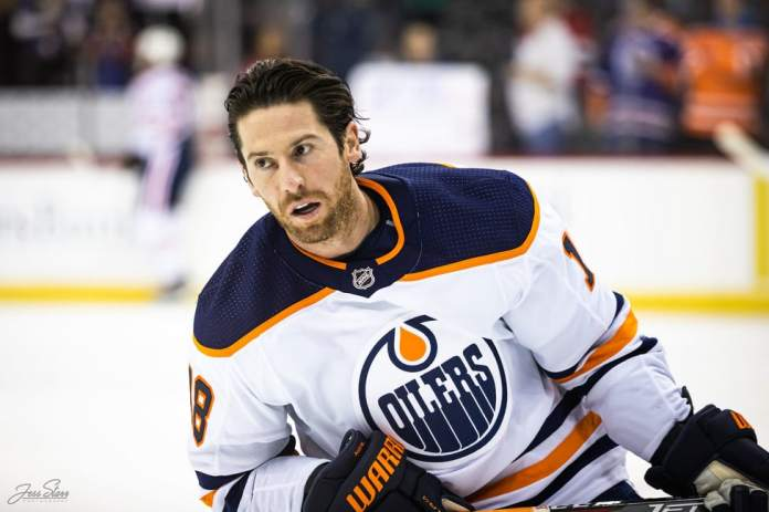 James Neal Oilers of Edmonton