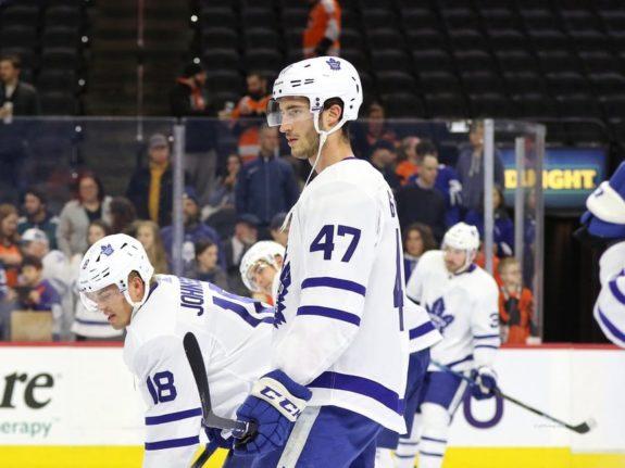 Pierre Engvall Toronto Maple Leafs