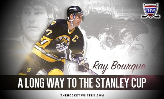 Ray Raymond Bourque Colorado Avalanche Boston Bruins A long way to the stanley cup