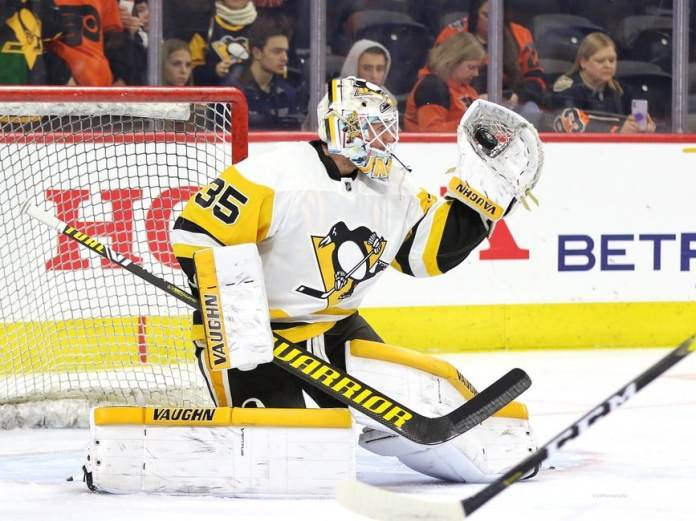 Tristan Jarry Penguins of Pittsburgh