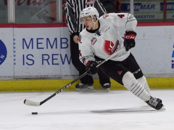 Jett Woo of the Warriors of Moose Jaw