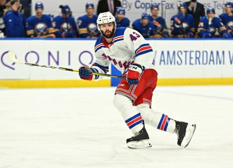 Part of the Rangers success is due to the contributions of their depth players, like Colin Blackwell.