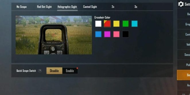 How to adjust sensitivity to improve aim in PUBG and Fortnite crosshair
