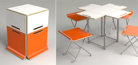 Designer Srdjan Simics Paket table