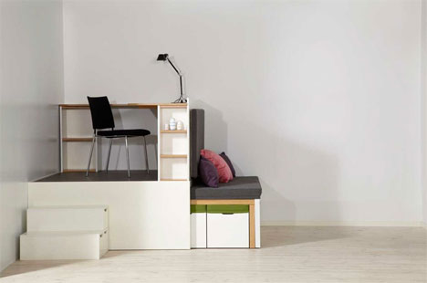 Matroshka Space Saving Furniture System Is Alive And Well