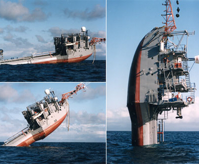 Crazy FLIP Ship Designed To Change Its Orientation From