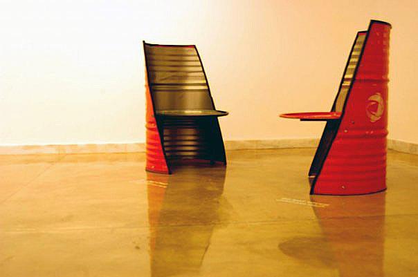 ReUse Exhibition By Sahar Ghaheri At