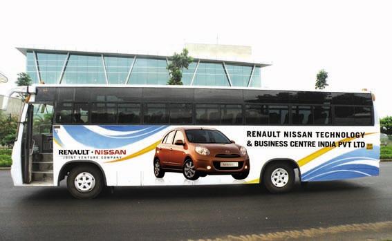 Bus Branding By Savya Ravi At