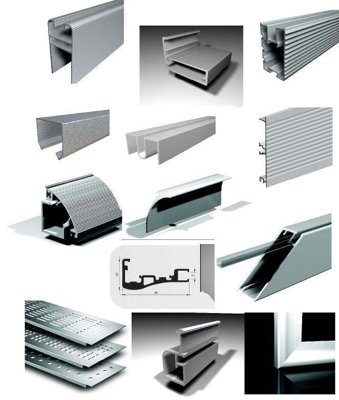 Aluminium Profile Design By Ali Tay At