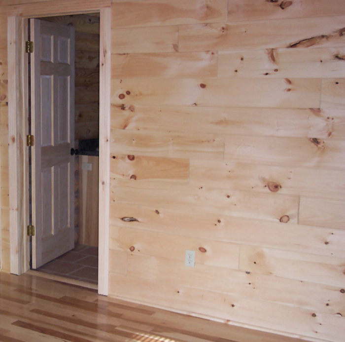 Tongue Amp Groove Pine Walls By Andy Goertzen At