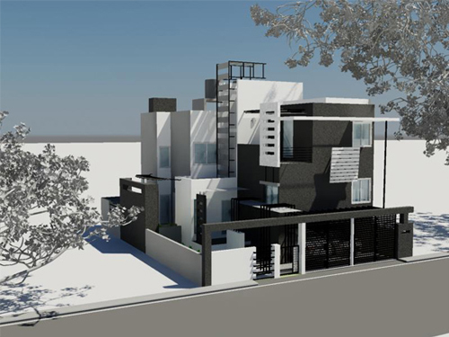 Building Construction In Bangalore By Ashwin Architects At