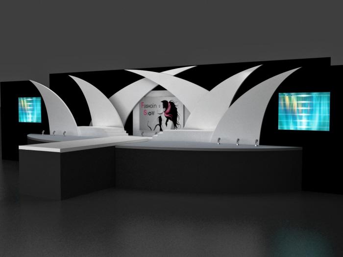 Fashion Show Set Design By Dnyansagar Sapkale At