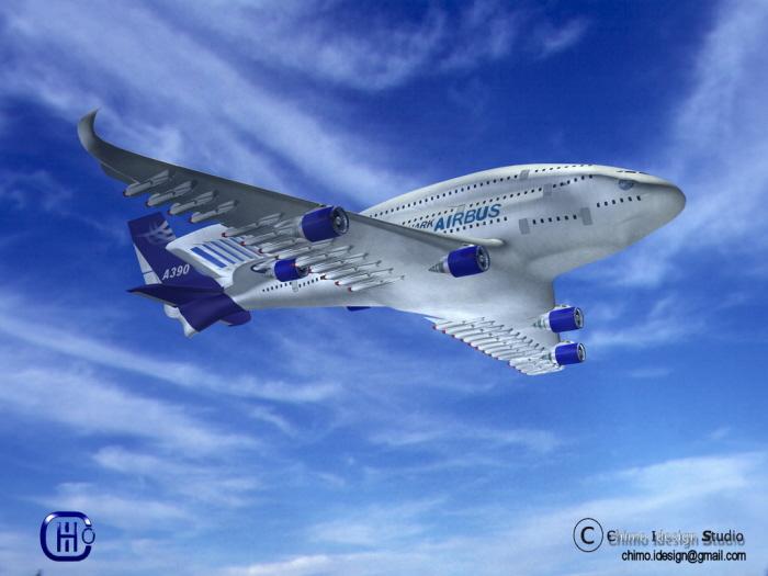 AIRBUS A390 SHARK By Joakin Sales At