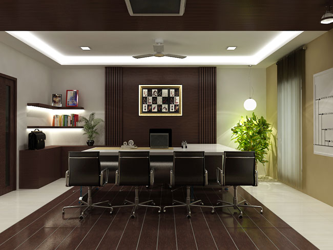Office Interior By Soniya Rawat At
