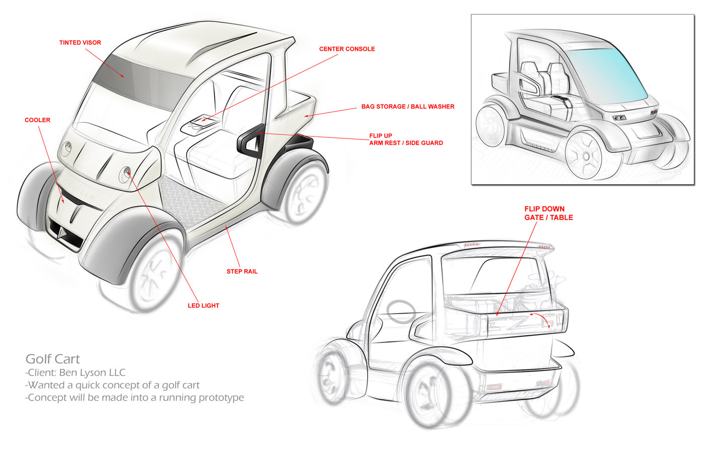 Lyson Llc Golf Cart By Phil Hall Mba At Coroflot