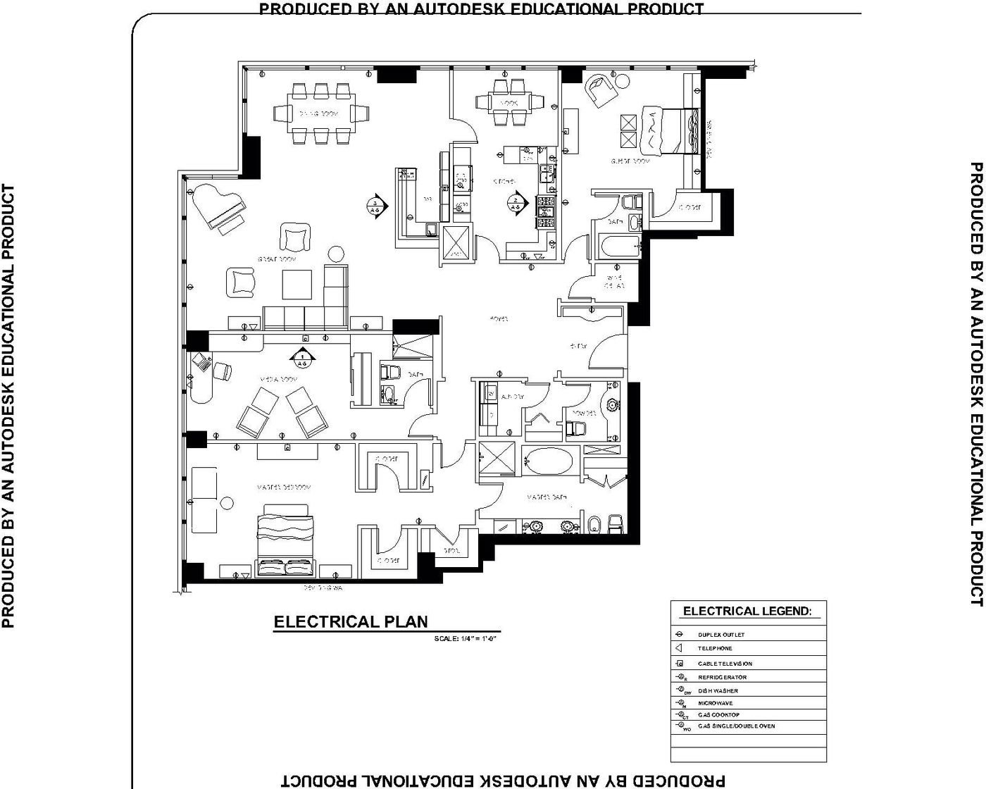 Residential Electrical Plan