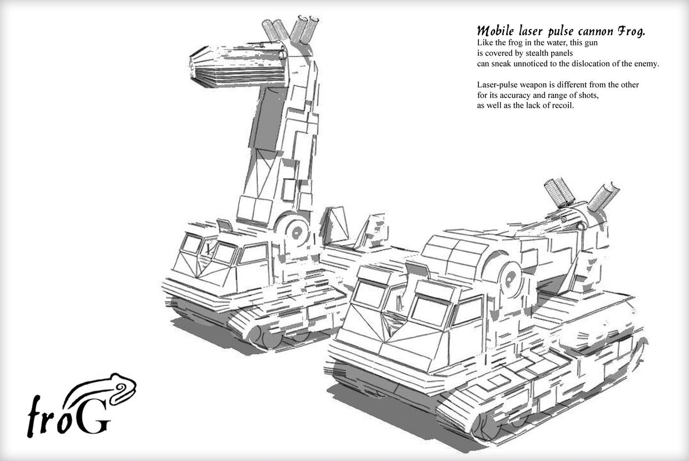 Concepts By Anton Shabramov At Coroflot
