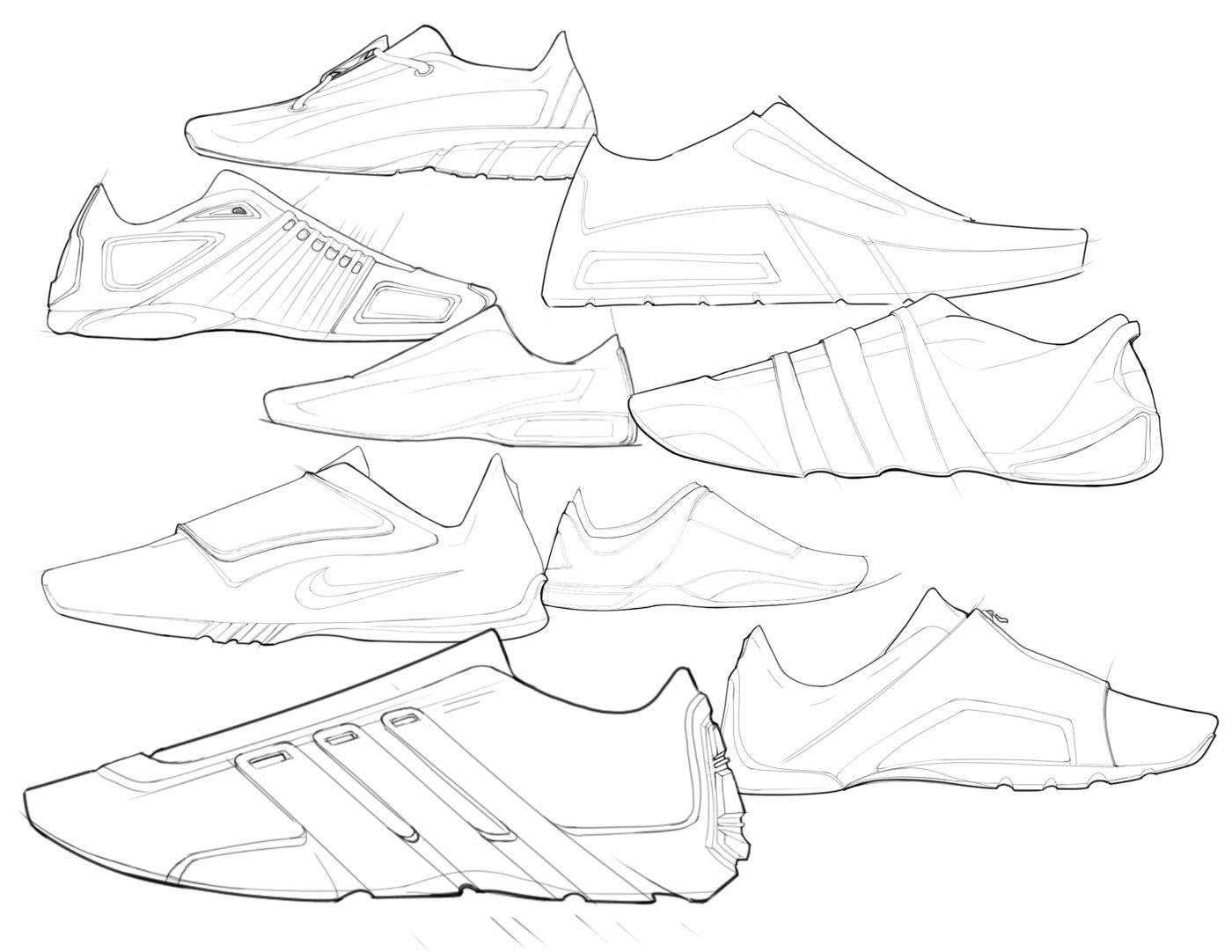Sketching Samples By Bryan Washburn At Coroflot