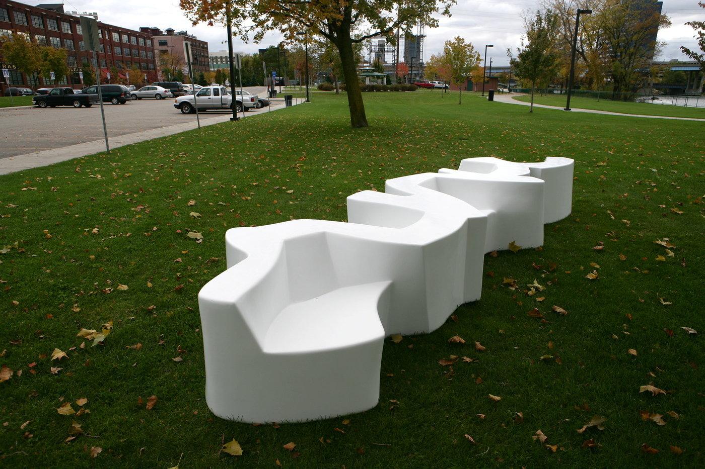 Public Furniture By Cameron Van Dyke At