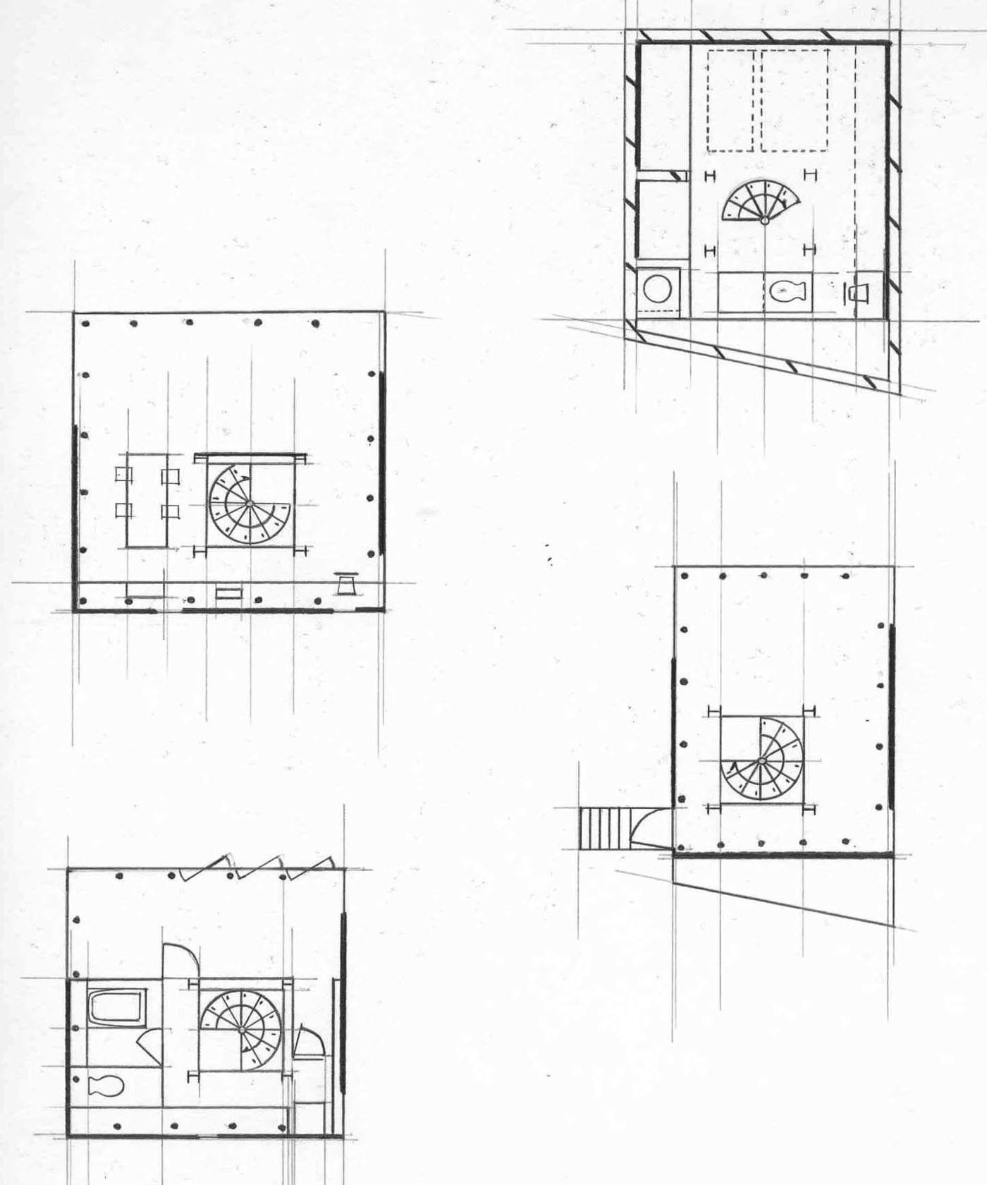 Year One Recreating Villa Savoye Small House By Andre Kumar Alexander At Coroflot Com