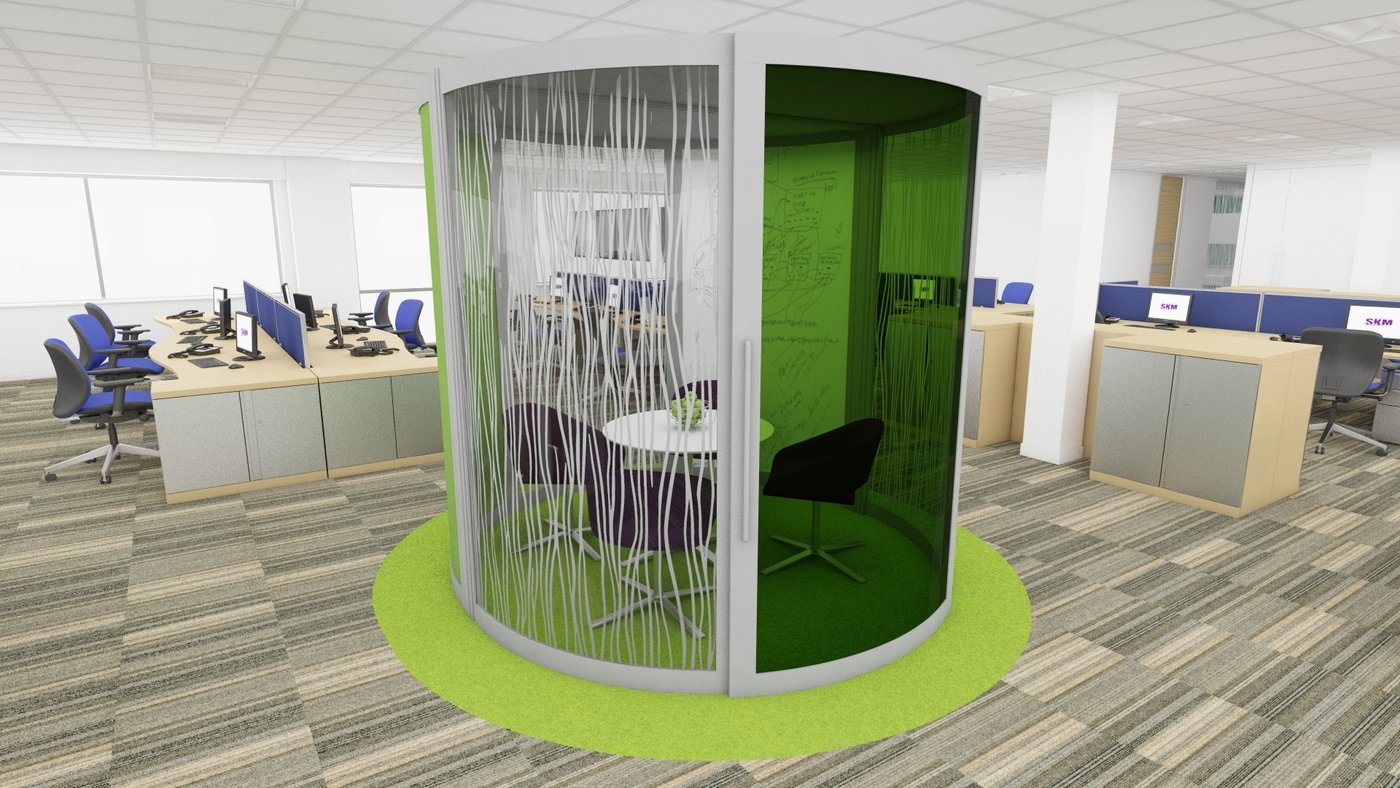 Meeting Pods By Daniel Kington At