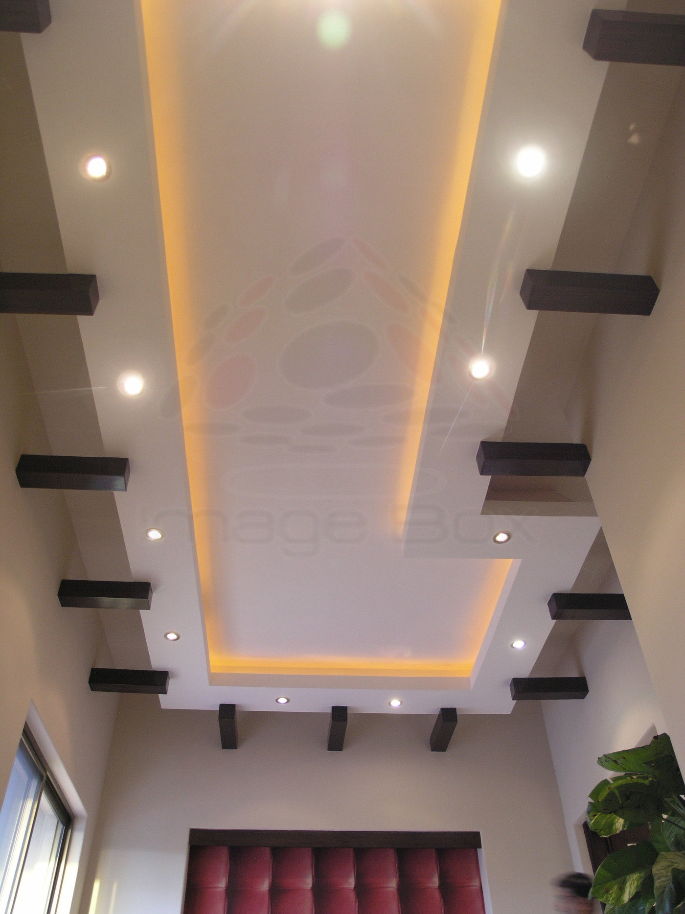Masood Majeed Khan House By Image Box At Coroflot Com   Staircase False Ceiling Design   High Ceiling   Outside Wall   Interior   Fall Ceiling   Grand