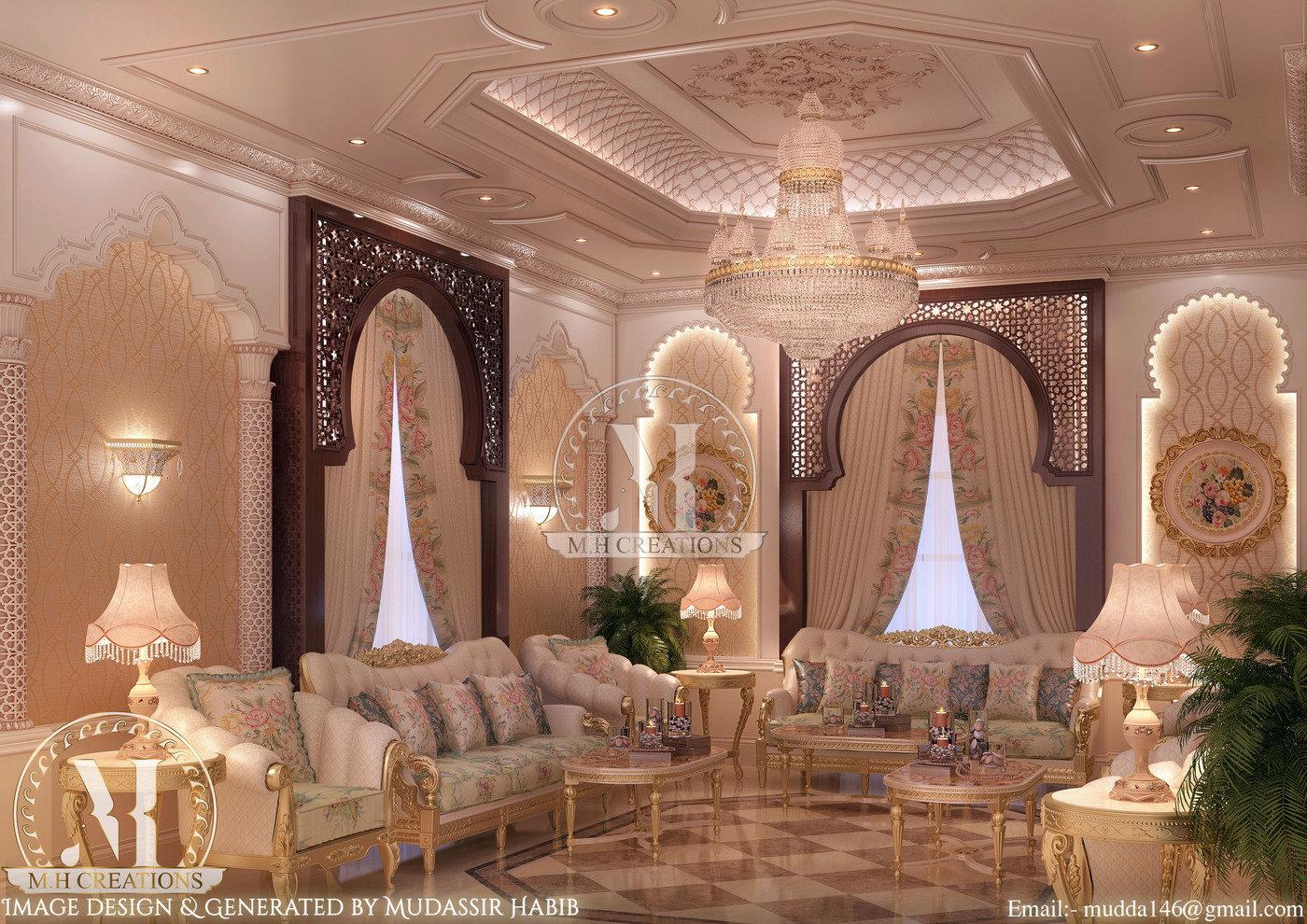 Moroccan Style Interior By Mudassir Habib Shaikh At
