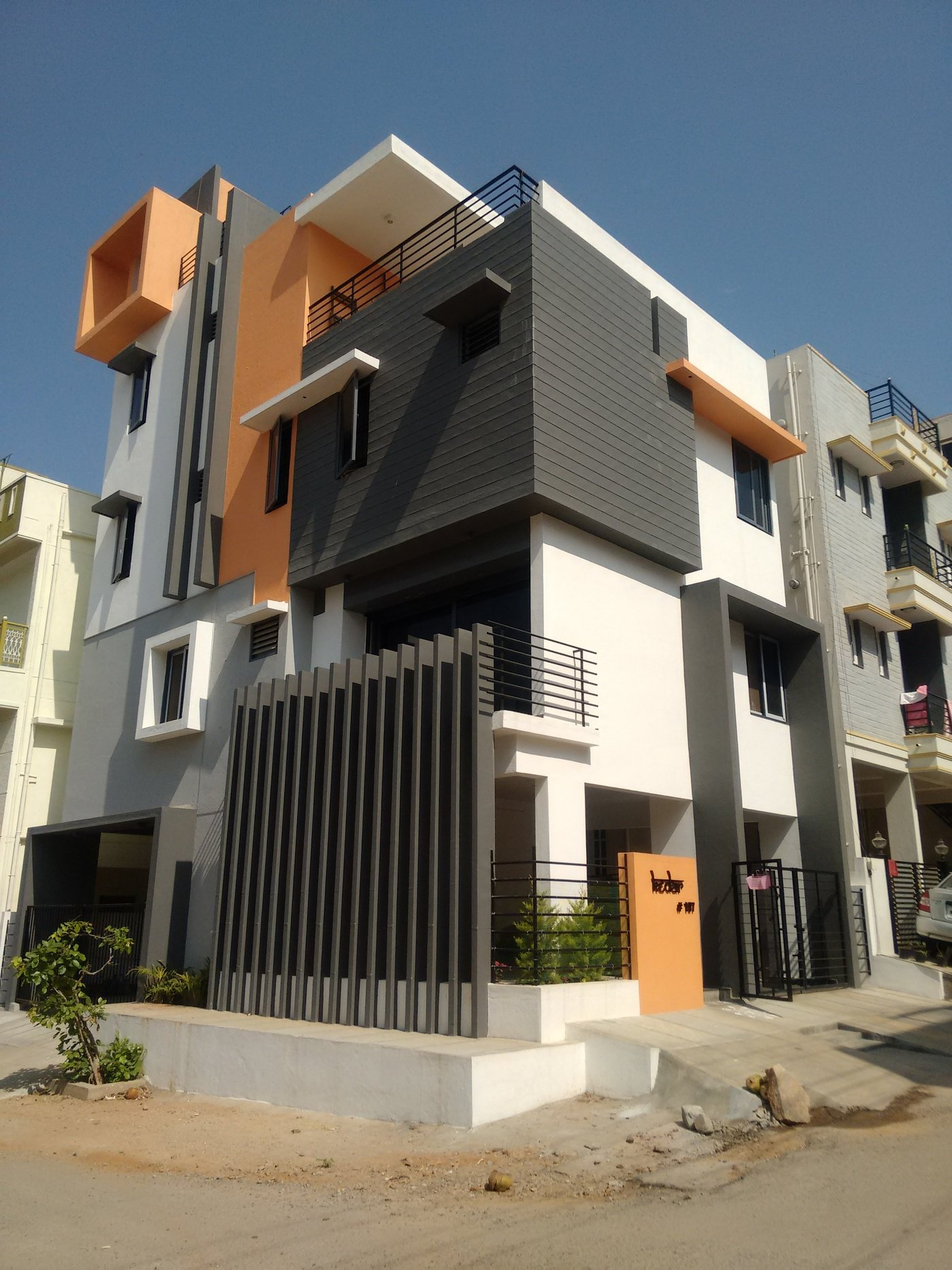 3BHK House Architects In Bangalore By Ashwin Architects