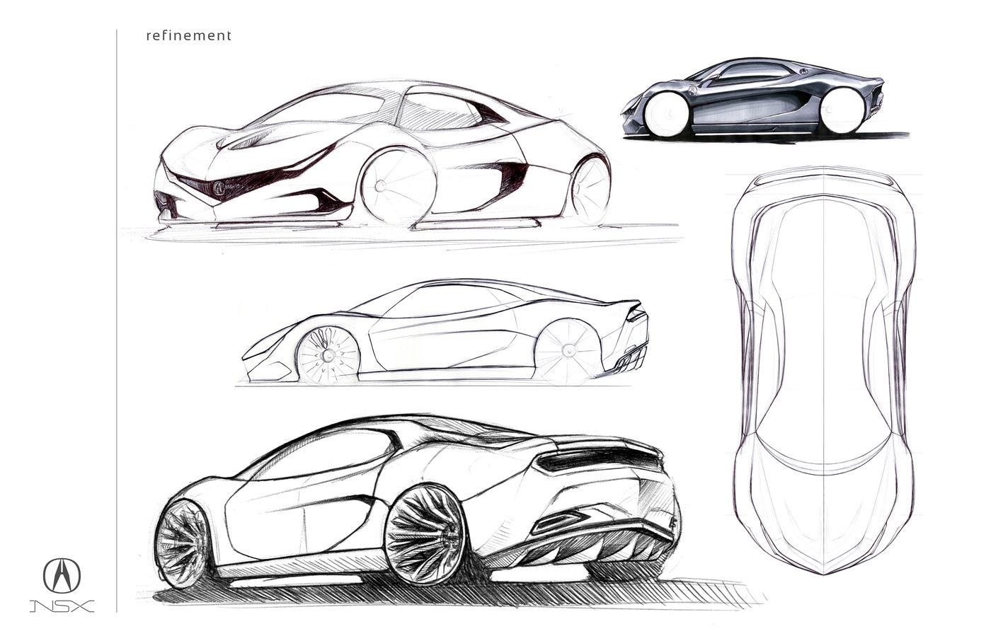 Nsx Concept By Jake Bosnak At Coroflot