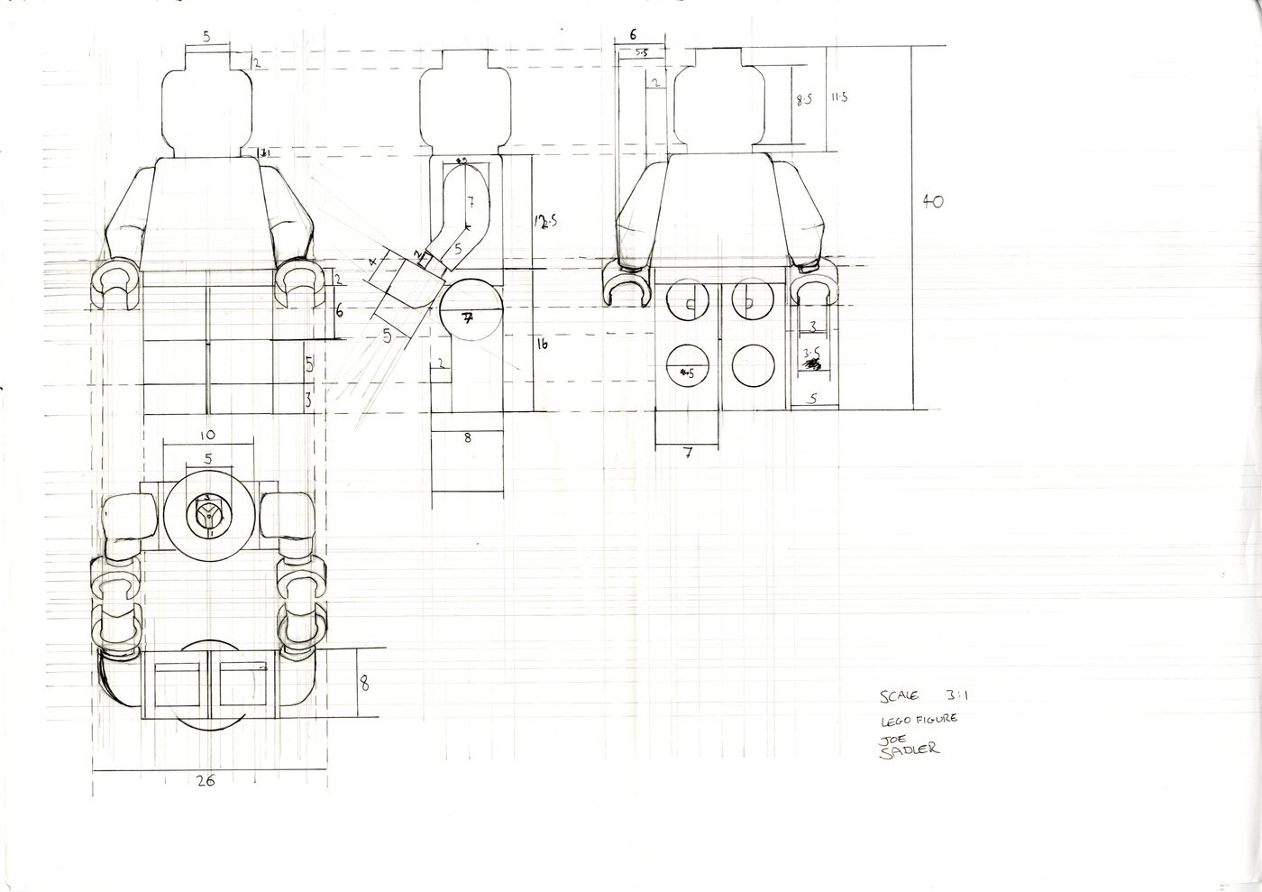 Cad And Technical Drawing By Joseph Sadler At Coroflot