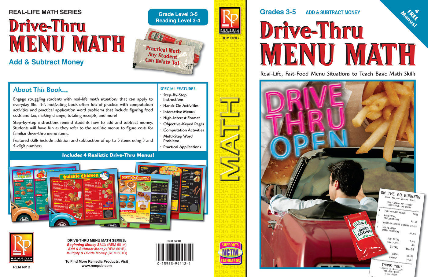 Drive Thru Menu Math By Christina Reville At Coroflot