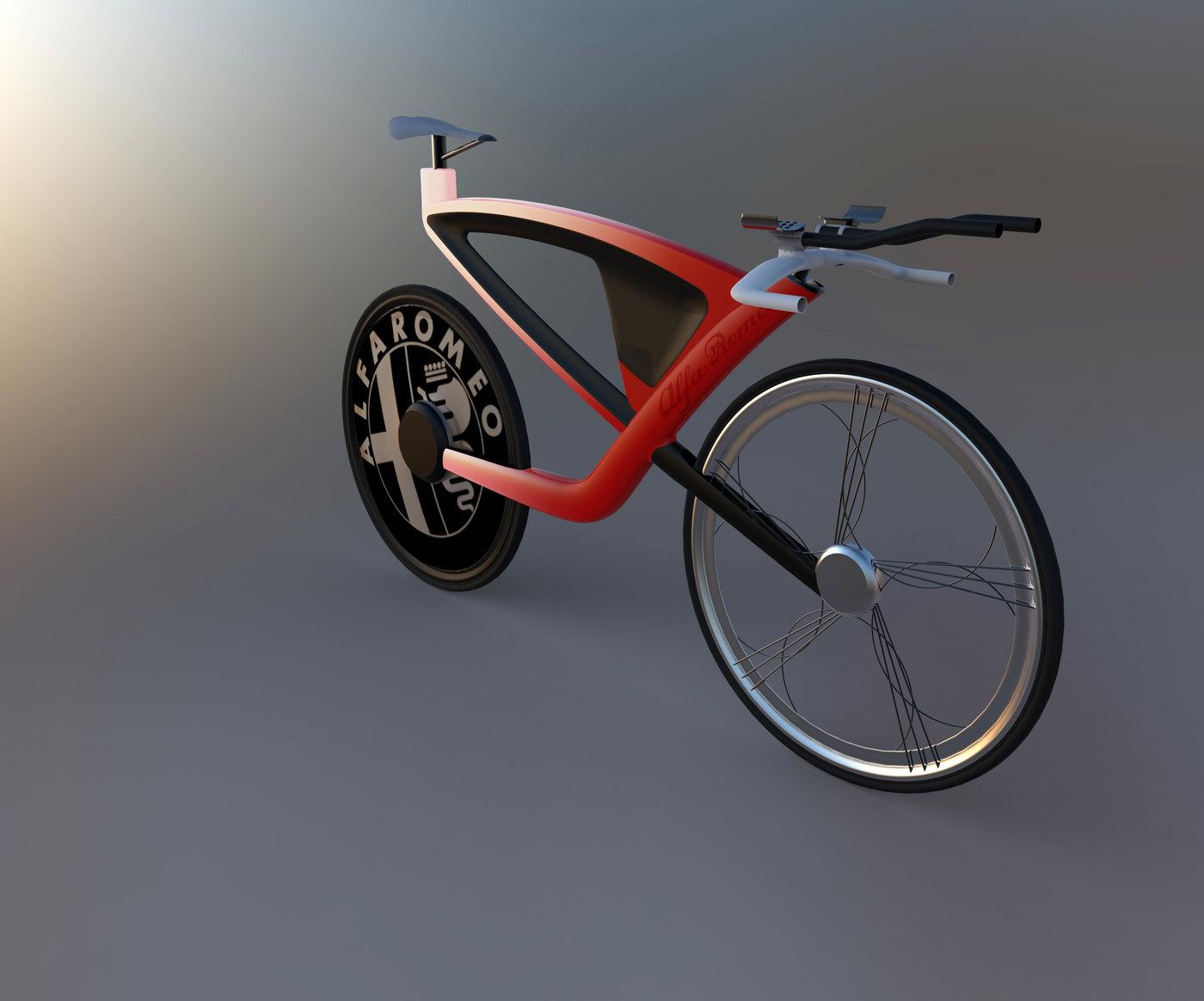 Alfa Romeo Bike By Evan Jones At