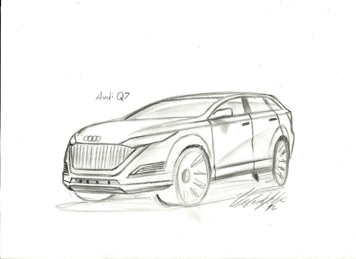 Facelift Audi Q7 By Alexandre Felipe Ribeiro Da Silva At
