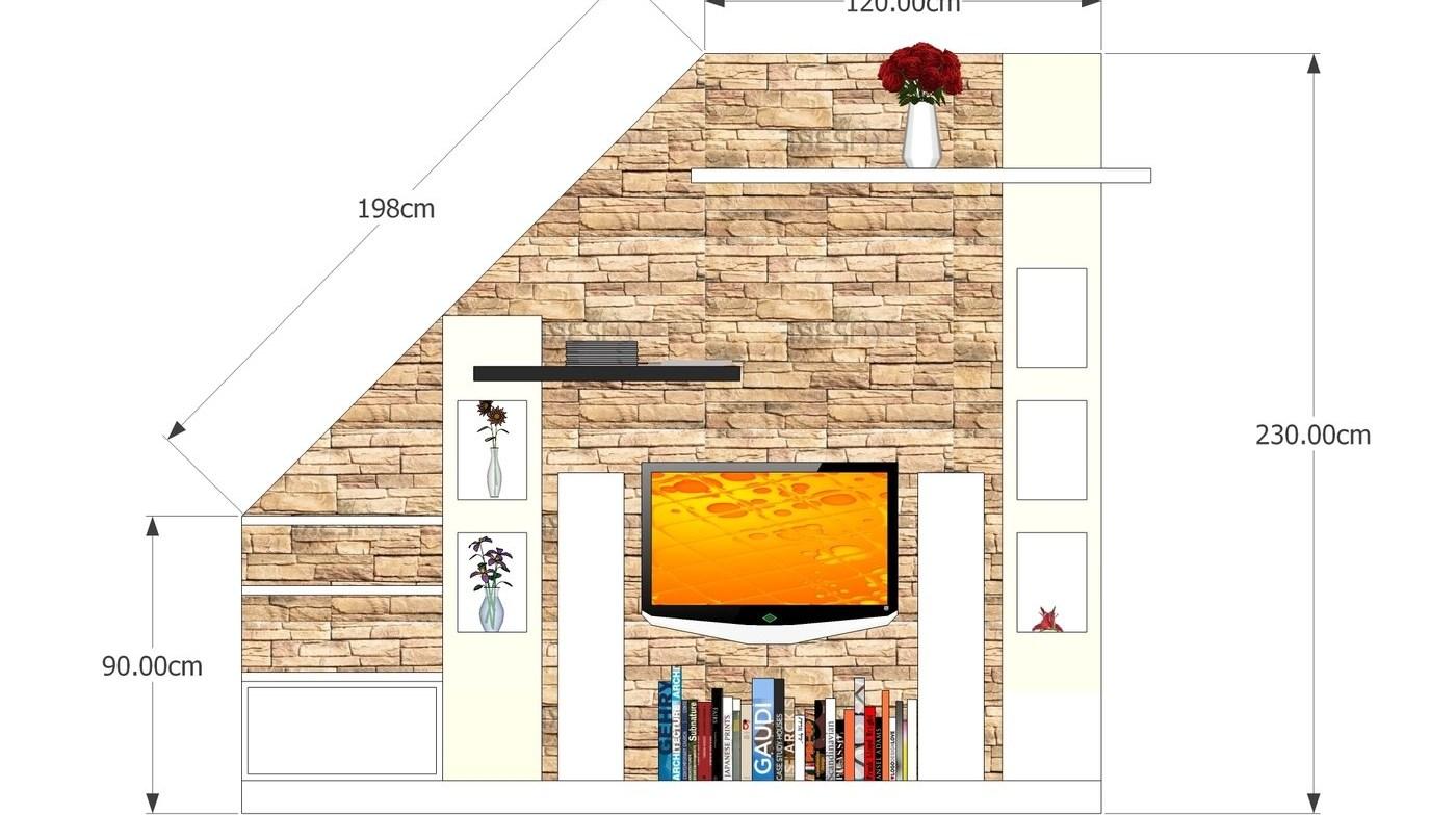 Under Stair Tv Cabinet Design By Ronald Baculi At Coroflot Com | Cabinet Design Under Stairs | Kitchen | Interior Design | Houzz | Stairs Storage Ideas | Understairs Storage