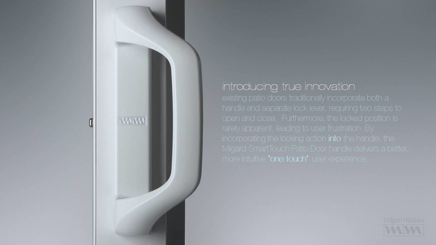 milgard smarttouch sliding glass door