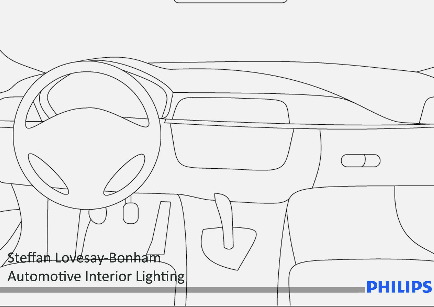 Philips Automotive Interior Lighting Assignment By Steffan