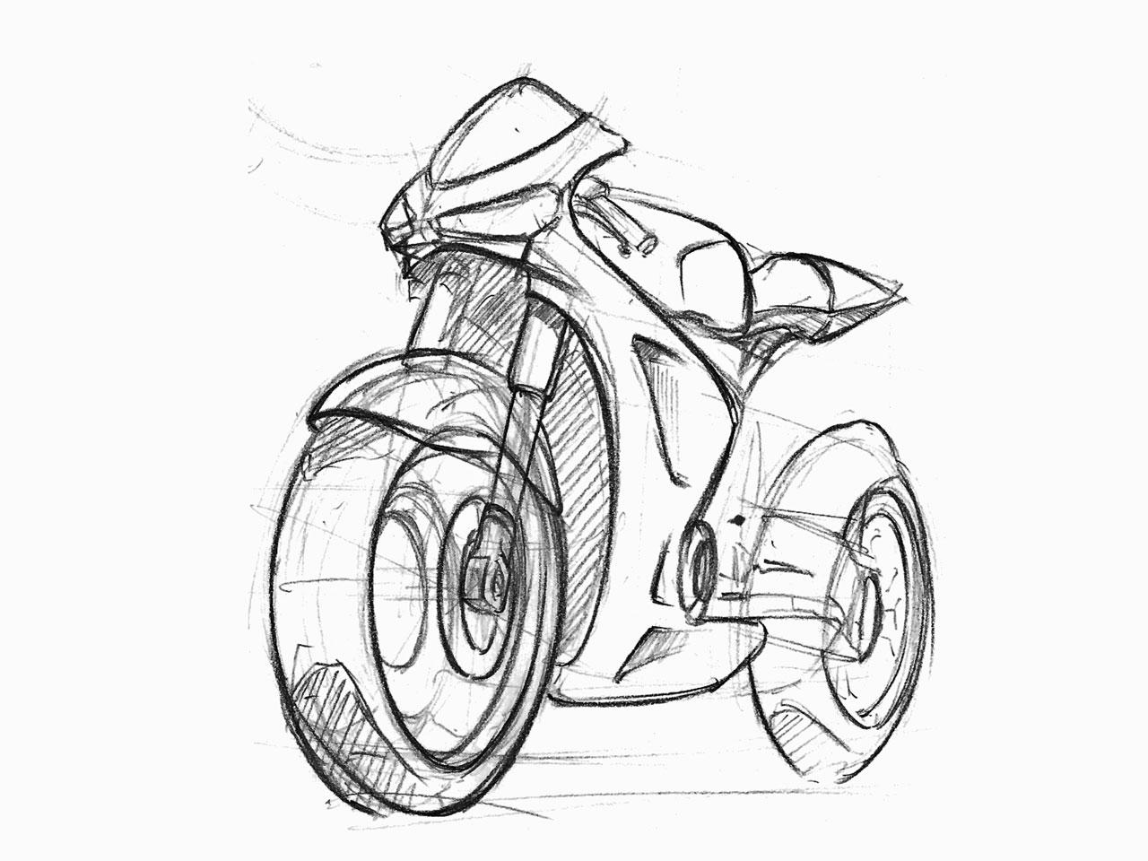 Motorcycle Sketches By Sen Heng At Coroflot