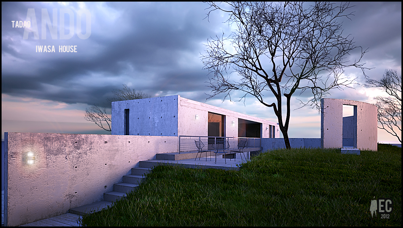 Iwasa House By Edward Domingo Castro At